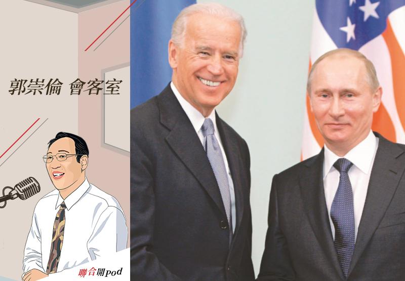 2011年時任美國副總統的拜登與時任俄國總理的普亭在莫斯科會晤。美聯社