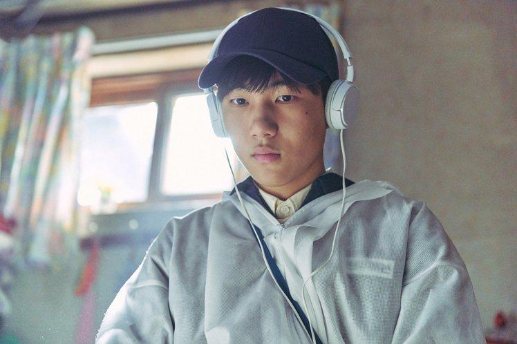 陳俊翔在「遺物整理師」飾演有亞斯柏格症特質的「可魯」,有不少催淚演出。圖/Net...