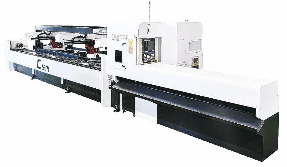 TH200五軸加工中心機。銳特精密/提供