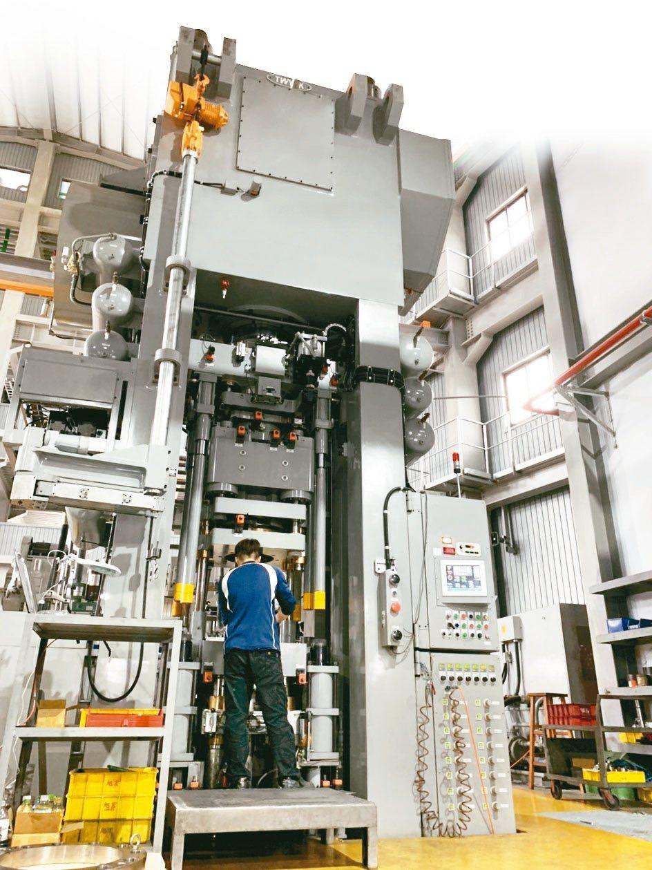 旭宏通過IATF 16949品質驗證,配備台灣良塚800噸級粉末冶金成型機,繁雜...
