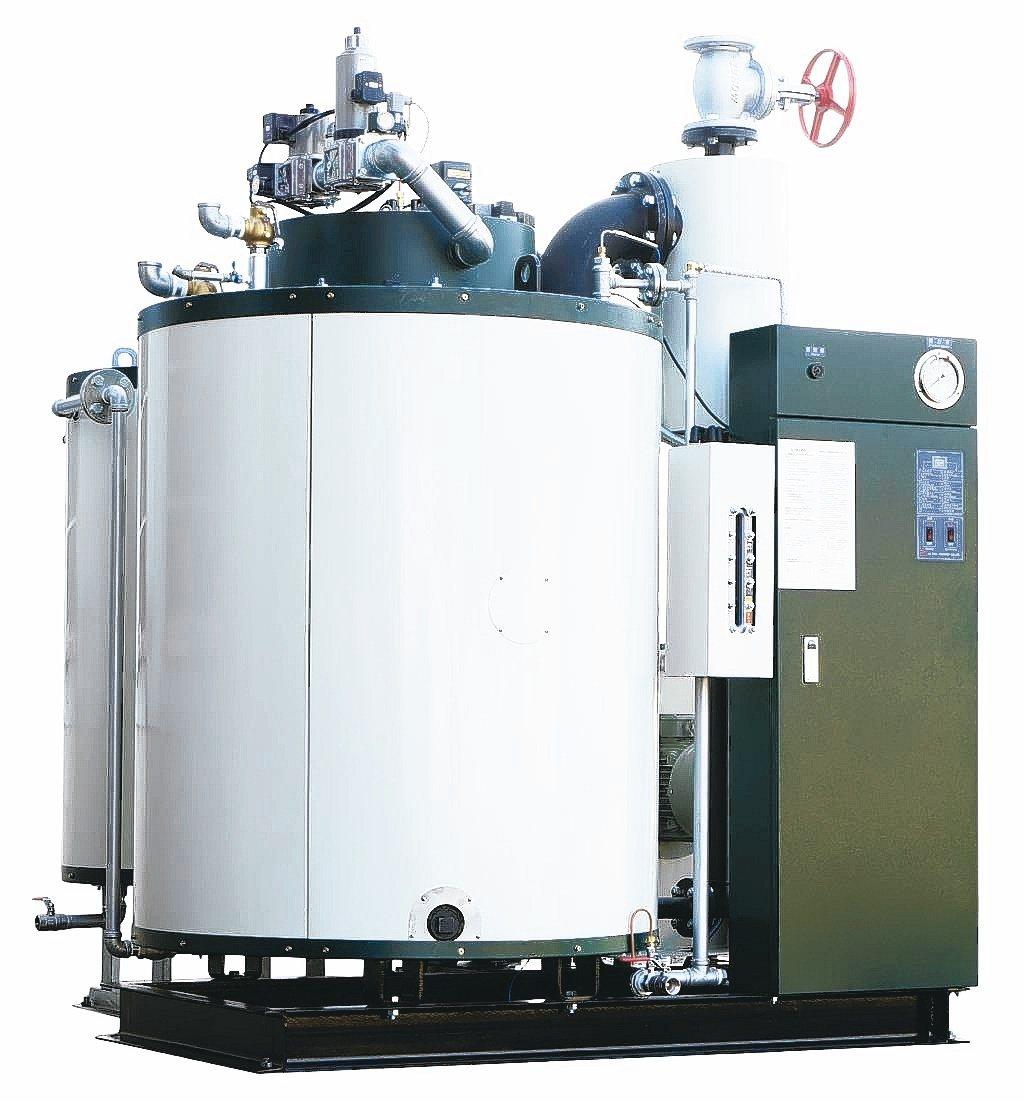 志豪生產各式貫流式鍋爐。志豪工業/提供