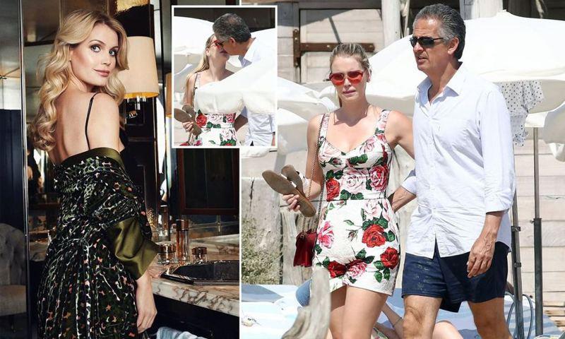 「英國最美皇室成員」、黛安娜王妃30歲姪女史賓塞被拍到親吻大32歲富翁。圖/取自dailymail