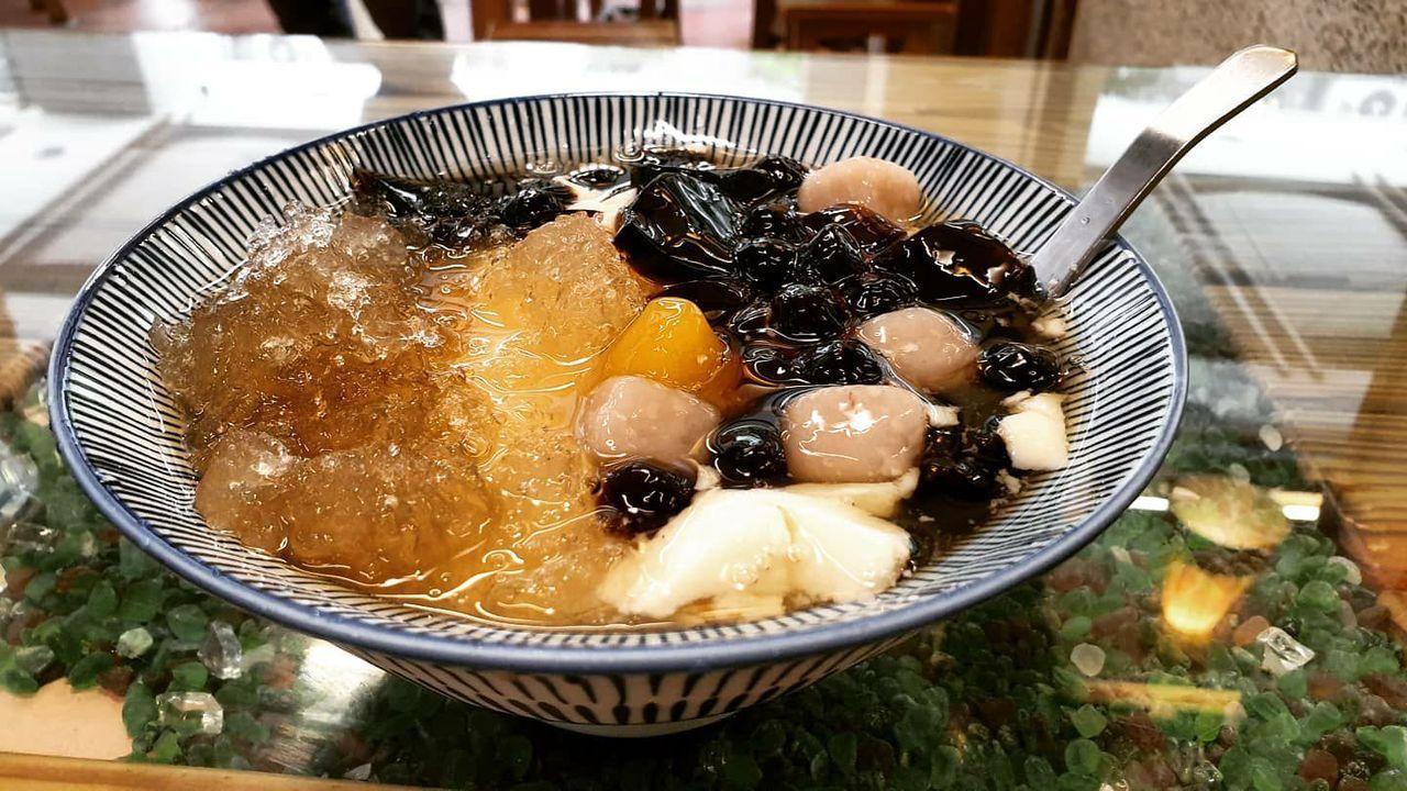 捷運石牌站周邊美食,不少在地人推薦「豆花林」。 圖/胡瑞玲 攝影