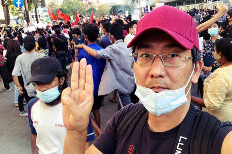 「身為記者我非常不甘心,但我有責任要向世界傳達真相!」緬甸政變百日之後,先前被軍...