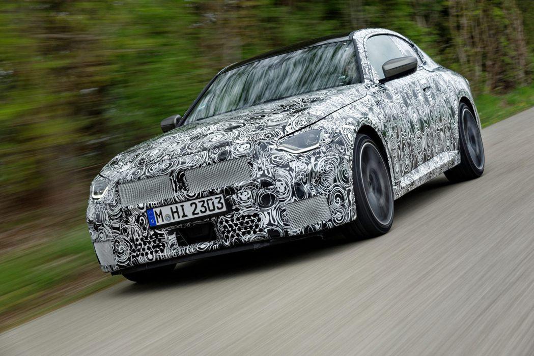 新一代BMW 2-Series Coupe預計在第三季投產。 摘自BMW