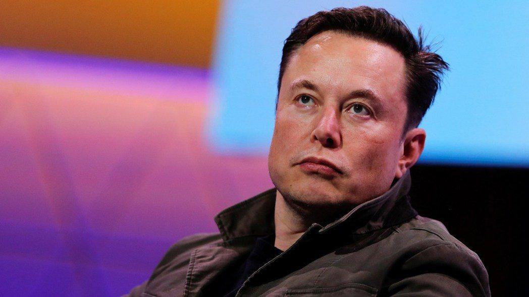 特斯拉執行長馬斯克(Elon Musk)。(路透)