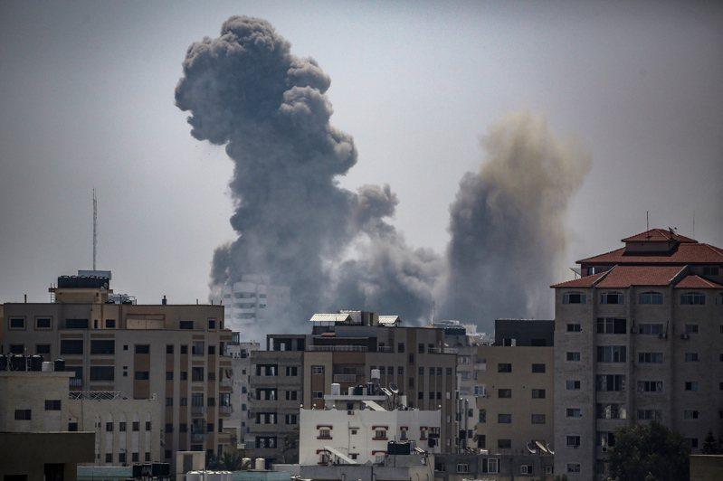 以巴之間的軍事衝突已持續數日。歐新社