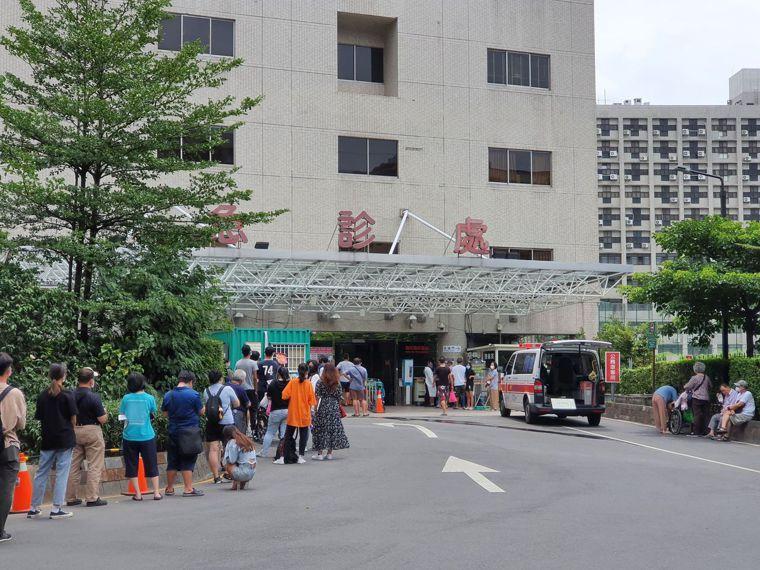 亞東醫院急診部。記者李成蔭/攝影