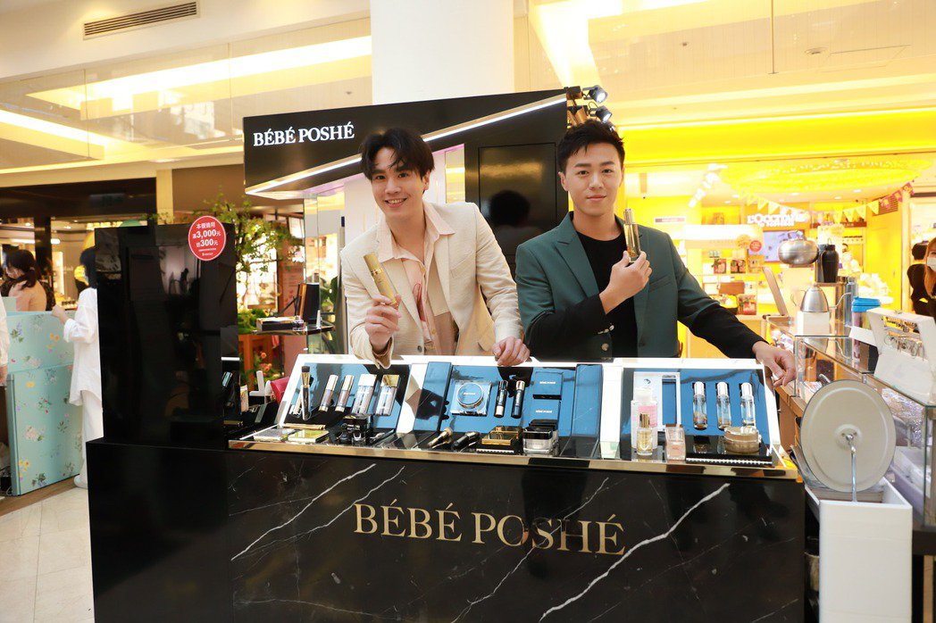 謝毅宏(左)、游書庭首次參加時尚派對。圖/奢華寶貝提供