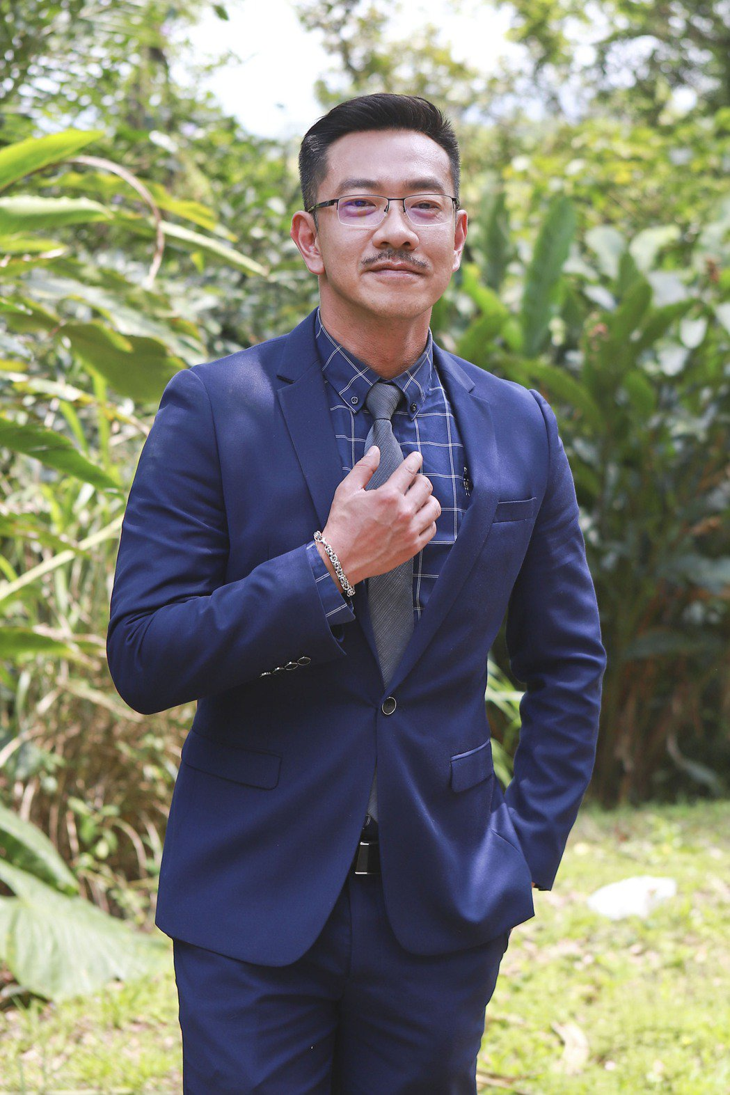 江俊翰表示對台灣防疫有信心,現階段先宅在家陪伴毛小孩。圖/民視提供