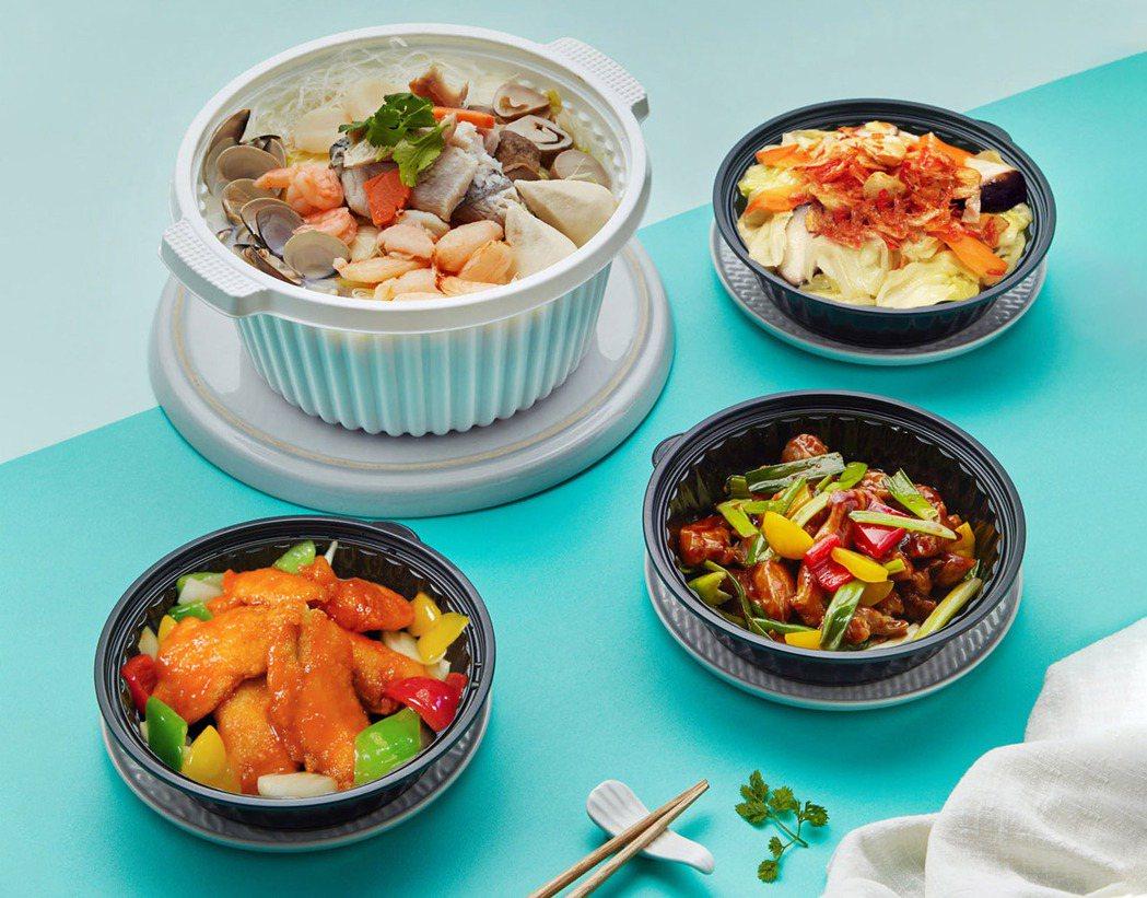香格里拉台南遠東飯店推出「EASYGO三餐易帶購」。照片/業者提供