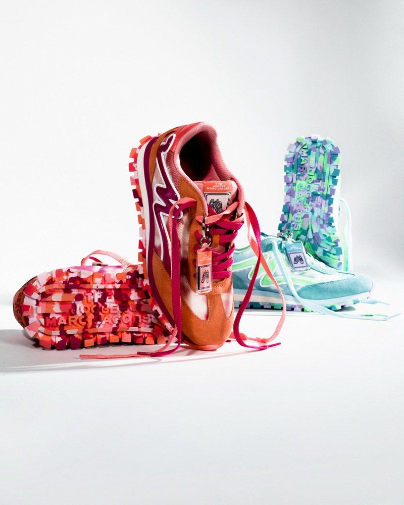 渲染系列慢跑鞋,13,900元。圖/Marc Jacobs提供