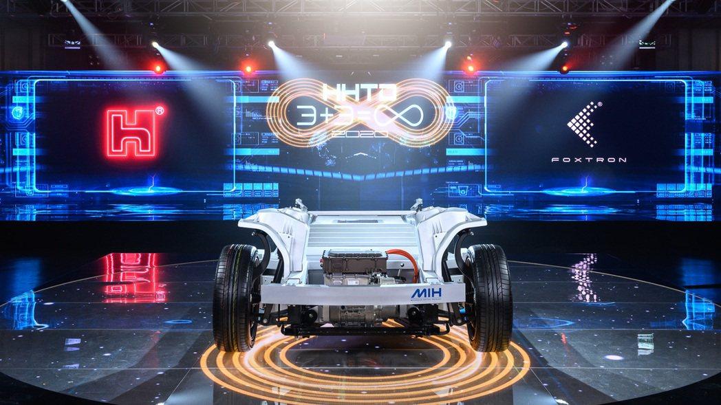 鴻海集團成立MIH聯盟,積極進軍電動車領域。 擷自鴻海集團網站