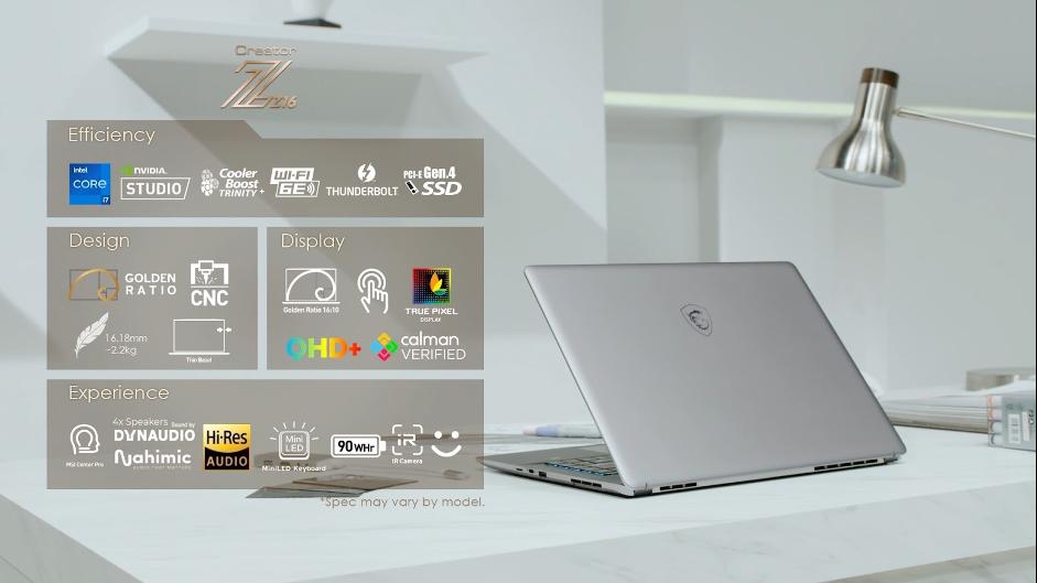 微星推出全新系列筆電搭載第11代Intel  Core H處理器  現代科技與人...
