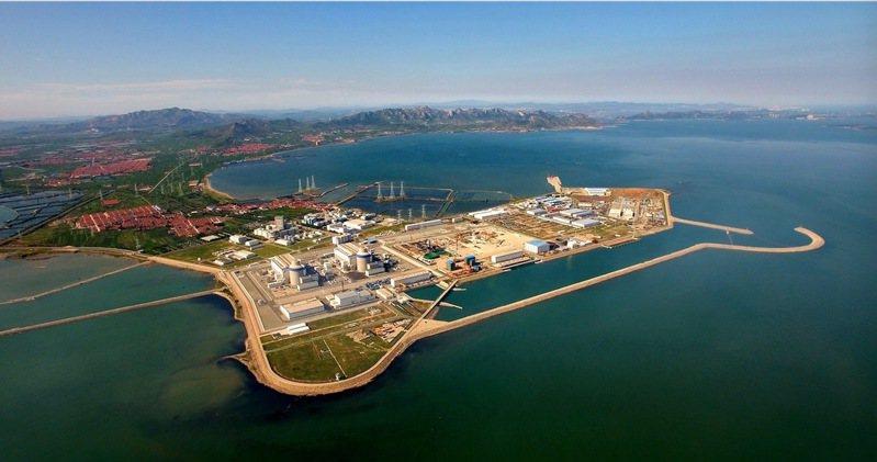大陸山東海陽核電基地。(澎湃新聞)