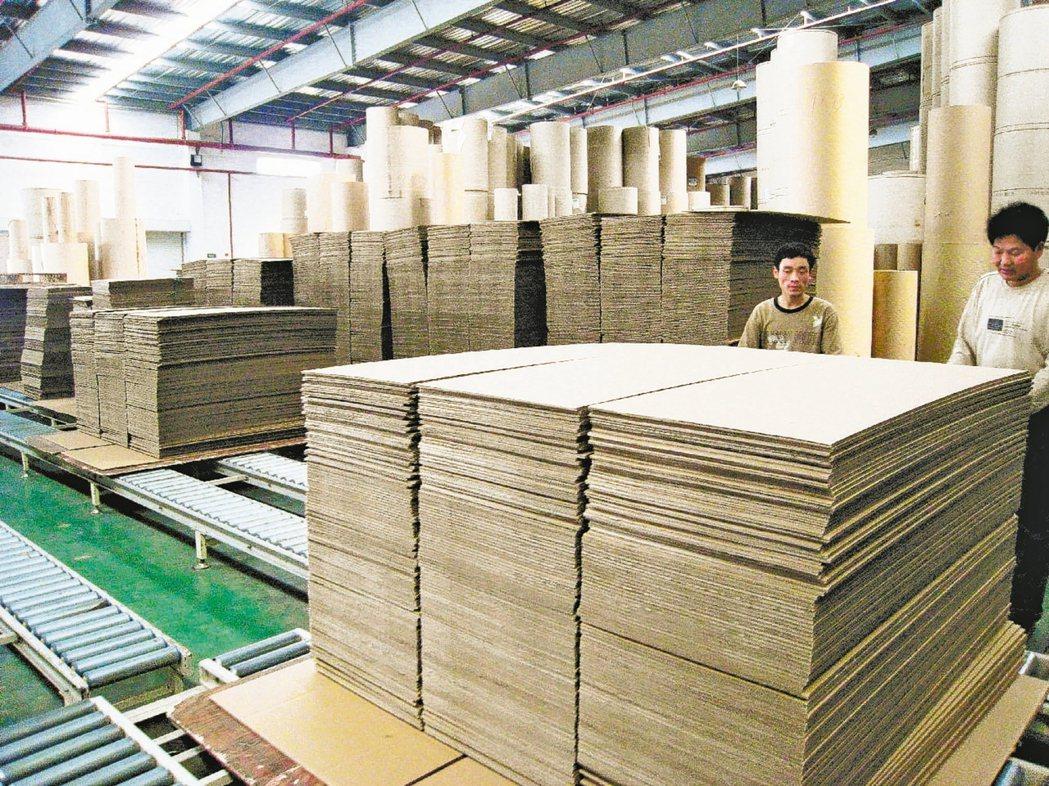 宅經濟需求大爆發,市場預期,電商拉貨動能增加,將使紙箱、紙器需求旺上加旺。(本報...