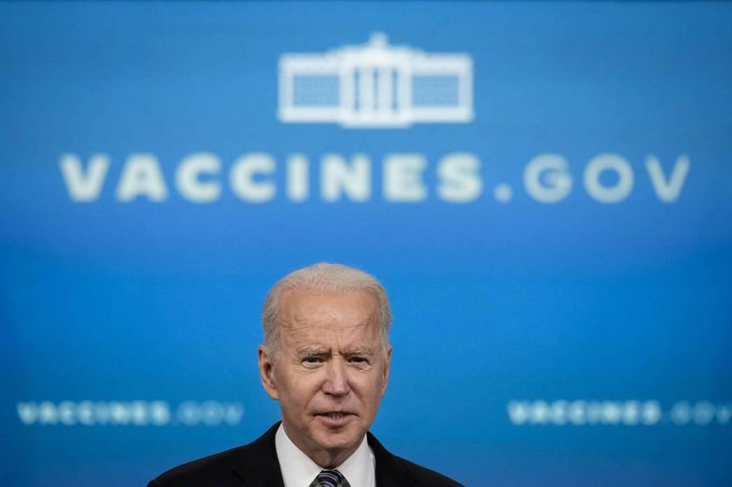 美國總統拜登突然於五月初宣布,美國將放棄對新冠疫苗的智慧財產權保護。 圖/法新社