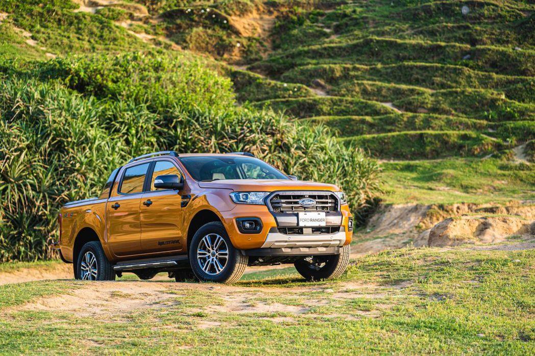 21年式Ford Ranger運動型正式升級到港,維持原售價149.8萬。 圖/...