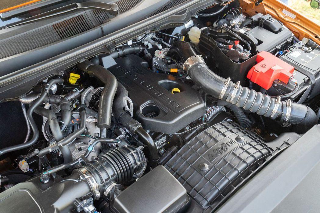 21年式Ford Ranger運動型搭載2.0L直列四缸Bi-Turbo柴油雙渦...
