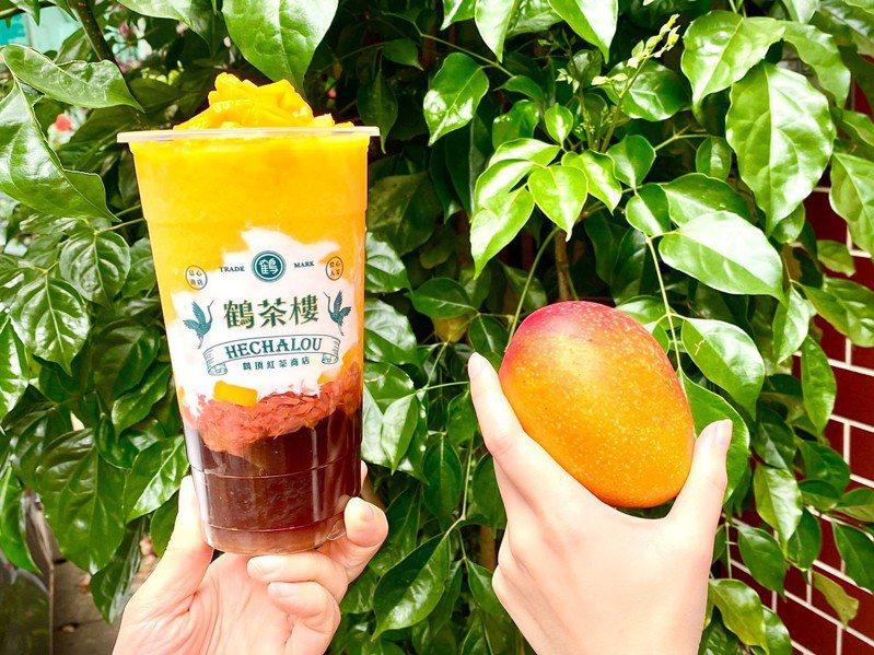 鶴茶樓「楊枝甘露」甜度、冰量固定,每日限量供應。圖/鶴茶樓提供
