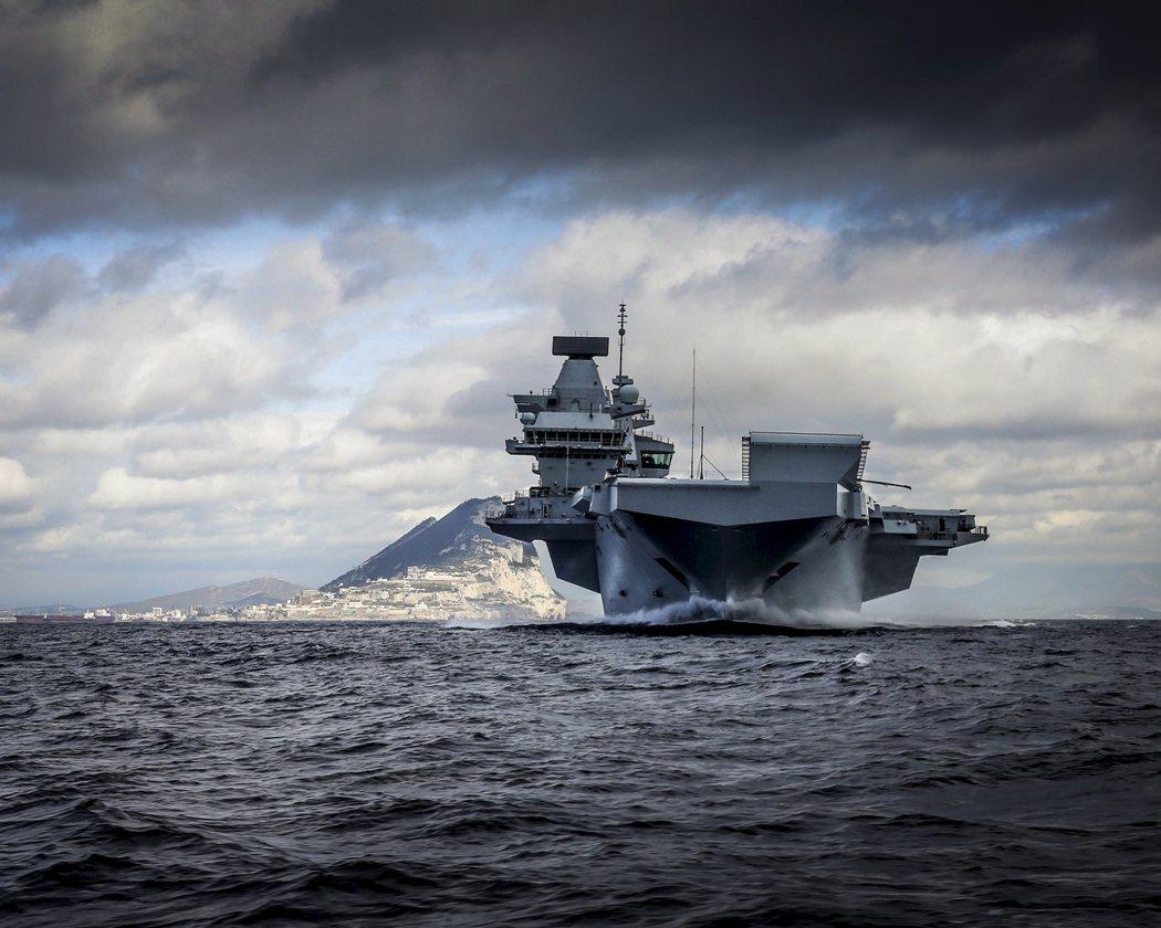 伊莉莎白女王號的這次巡航可能不只是英國重返亞洲的決心,也可能變成北約海軍進入太平...