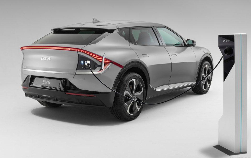 全新Kia EV6目前在歐洲市場的詢問度也相當高。 摘自Kia