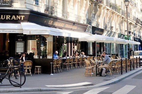 法國餐飲業將自5月19日開始,從露天座位逐步解封。圖/Ying C. 陳穎提供