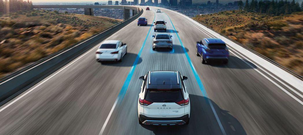 ACC主動式巡航控制是現代車輛必備的駕駛輔助系統。 摘自Nissan