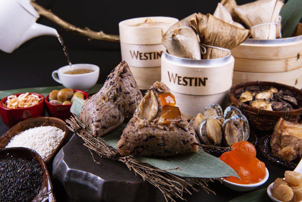 今年推出海陸好運粽,即日起預訂,5/20之前下訂享早鳥優惠。 宜蘭力麗威斯汀/提...