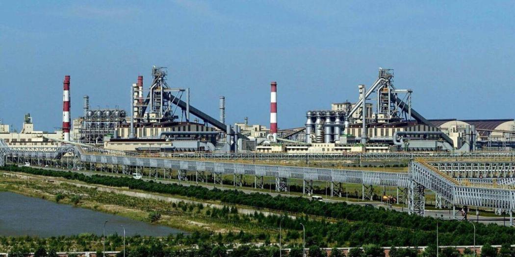 圖/台塑河靜鋼鐵公司廠區外觀。擷取自台塑河靜鋼鐵官網