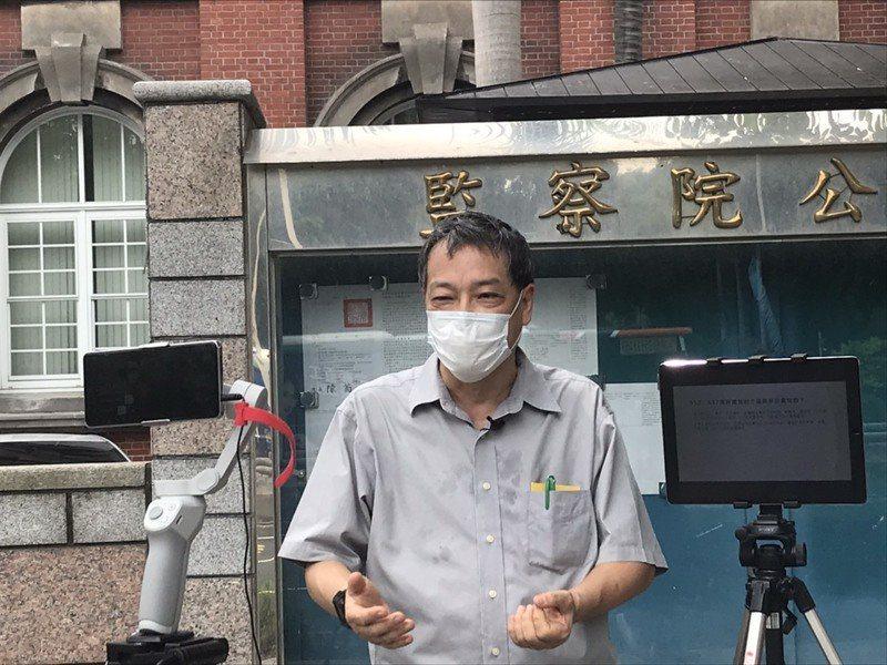 綠色消費者基金會秘書長方儉18日強調,停電等同缺電是錯誤的觀念。(photo by臧品安/台灣醒報)