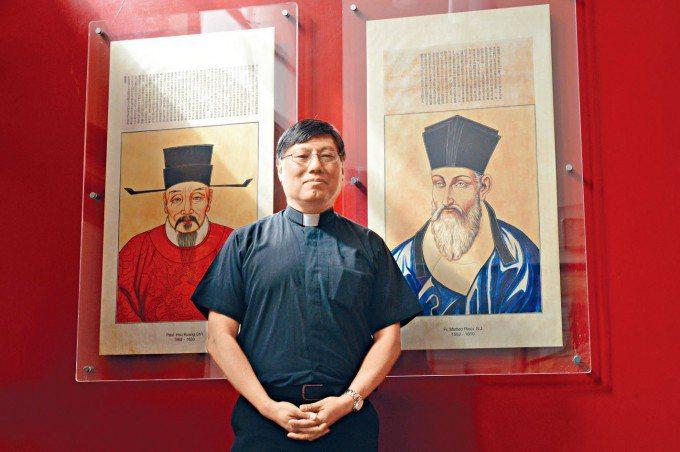 耶穌會周守仁神父,獲擢升為天主教香港教區新主教。星島日報