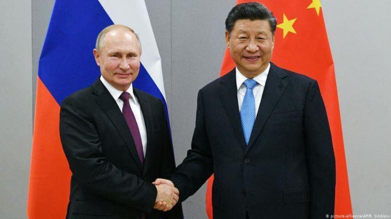 大陸外交部宣布,大陸國家主席習近平將於5月19日在北京通過視訊連線,與俄羅斯總統...