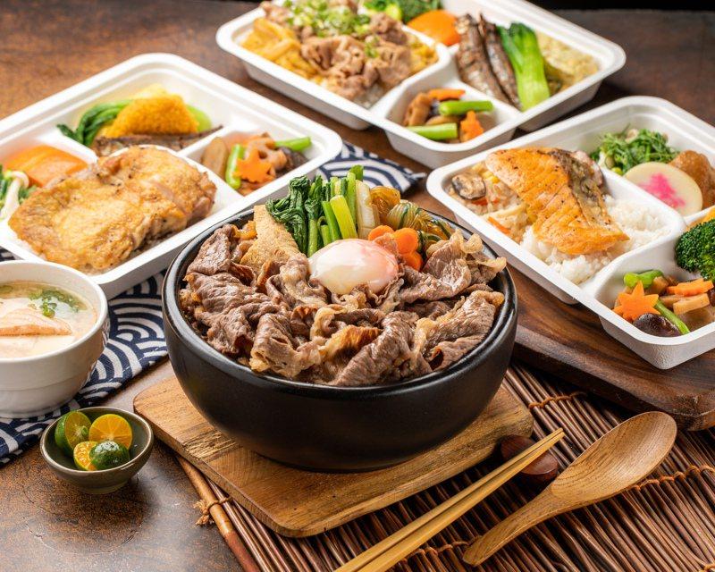 欣葉日本料理提供多款外帶餐點。圖/欣葉提供