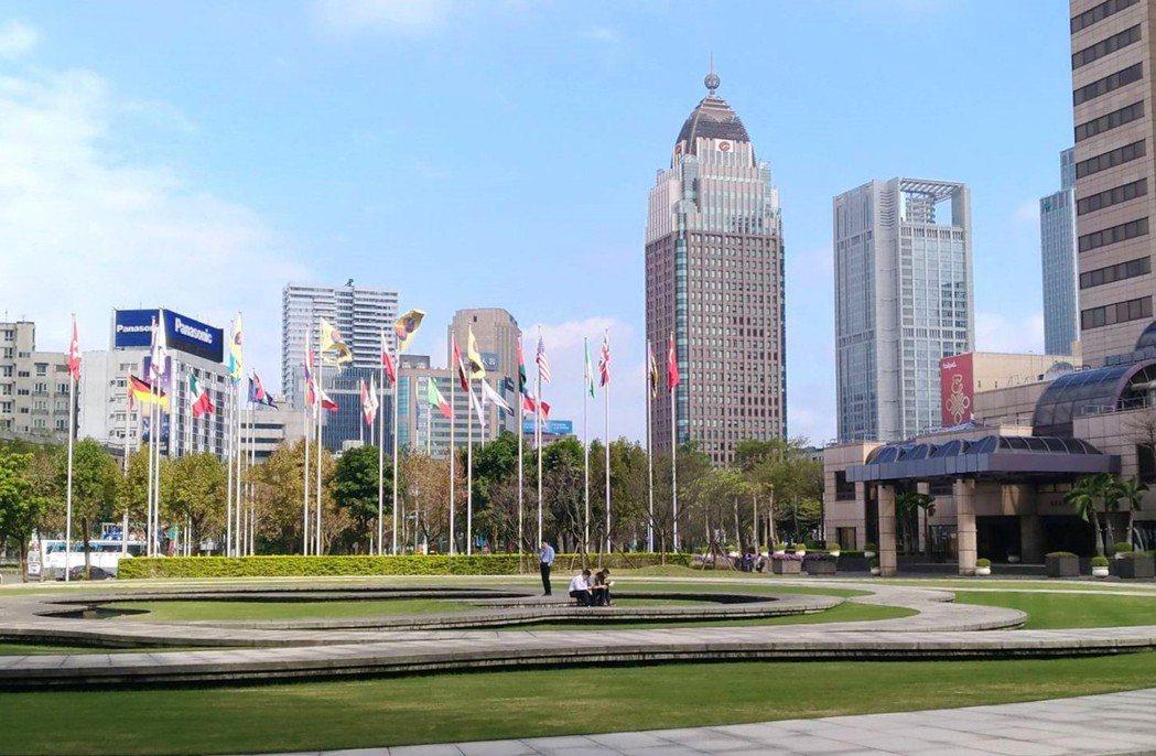 圖為台北市信義區。記者游智文/攝影