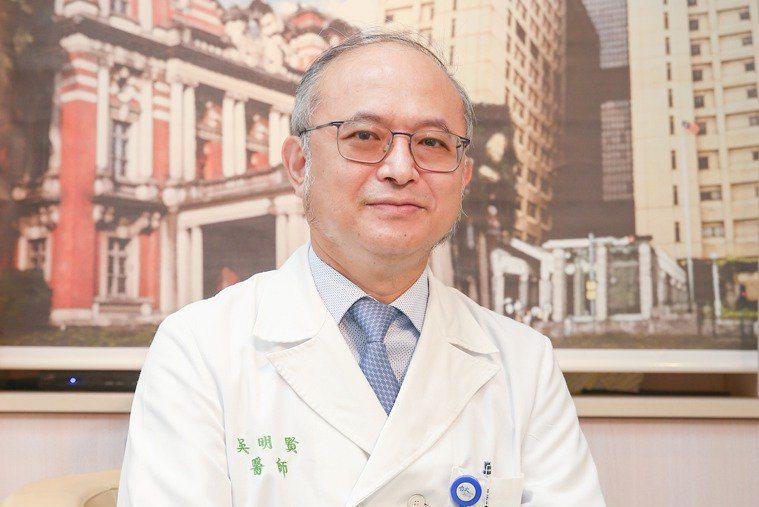 台大醫院院長吳明賢。本報資料照片