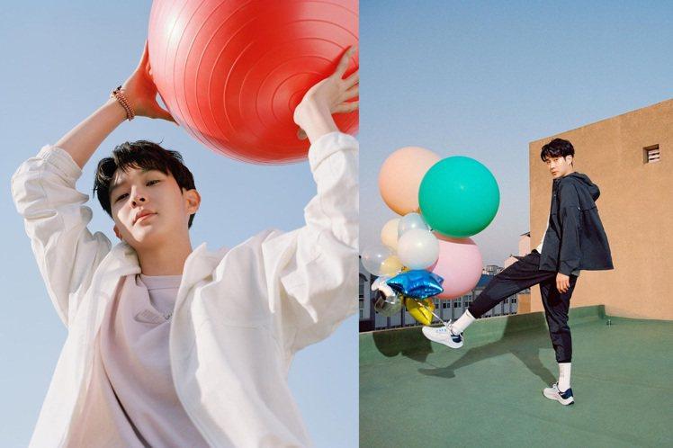 韓國男星崔宇植受邀演繹Nike 「Play New」主題形象廣告。圖/摘自ins...