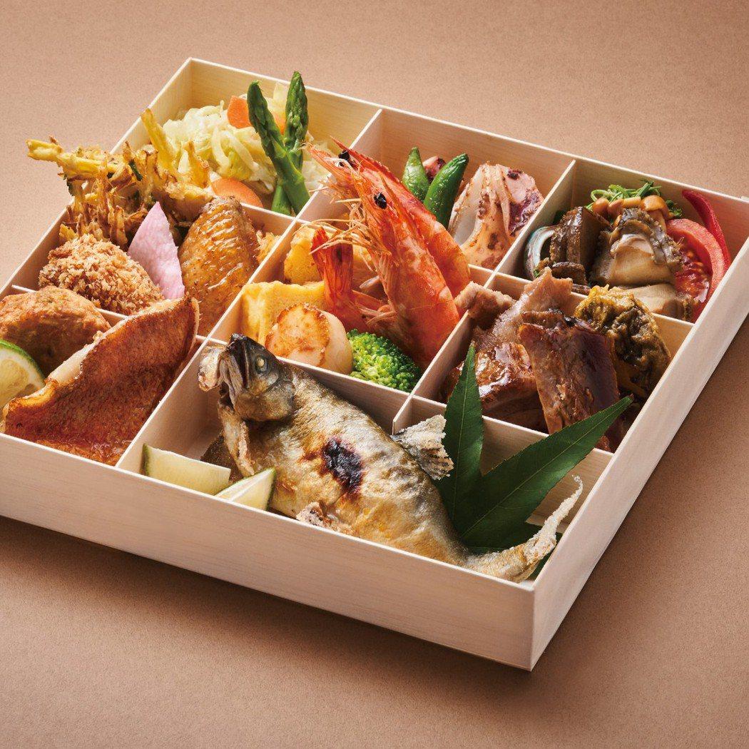 旭集所推出的「豚膳便當」。圖/饗賓餐旅提供