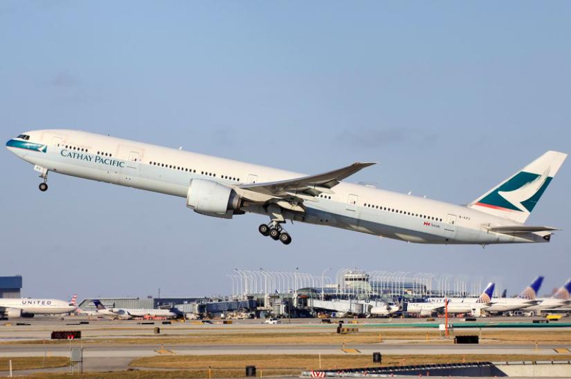香港國泰航空今(18)日表示,已有超過80%的駐港機師及逾40%的駐港機艙服務員...