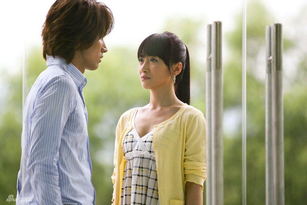 陳紫函當年和言承旭(左)一起演出「就想賴著你」。圖/LiTV、壹定娛樂
