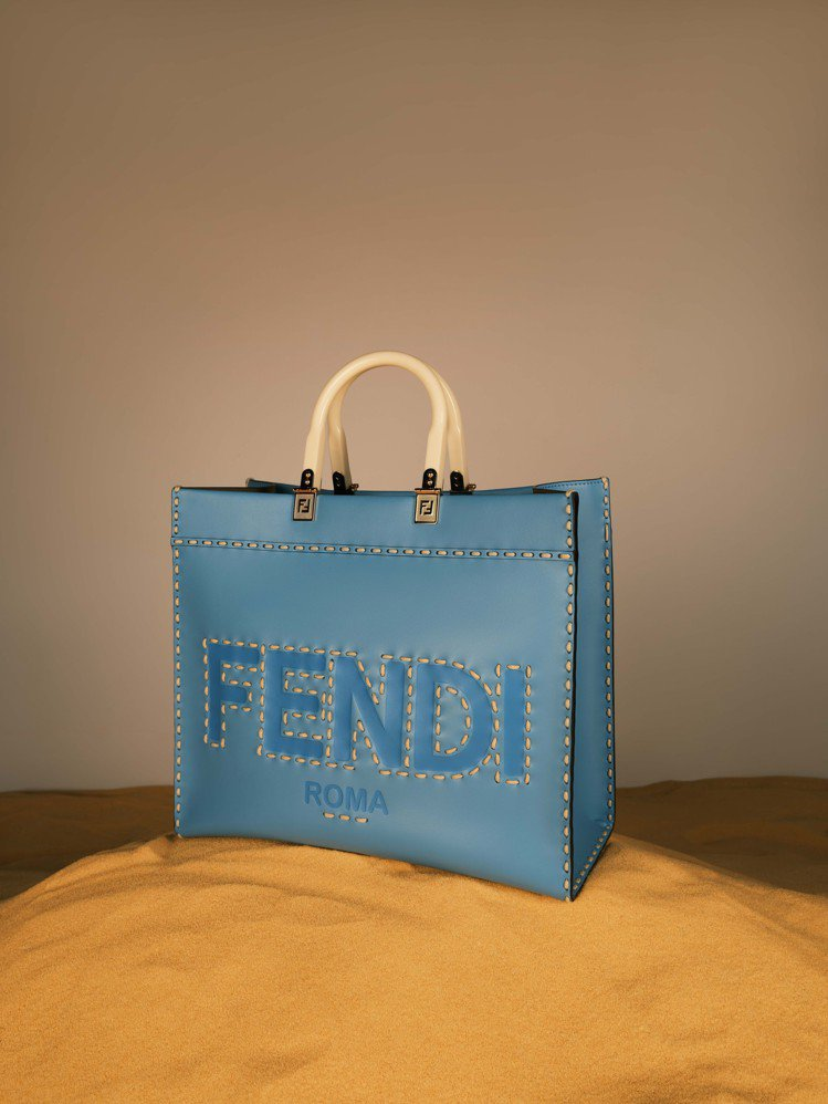 FENDI Vertigo Shopper,10萬元。圖/FENDI提供