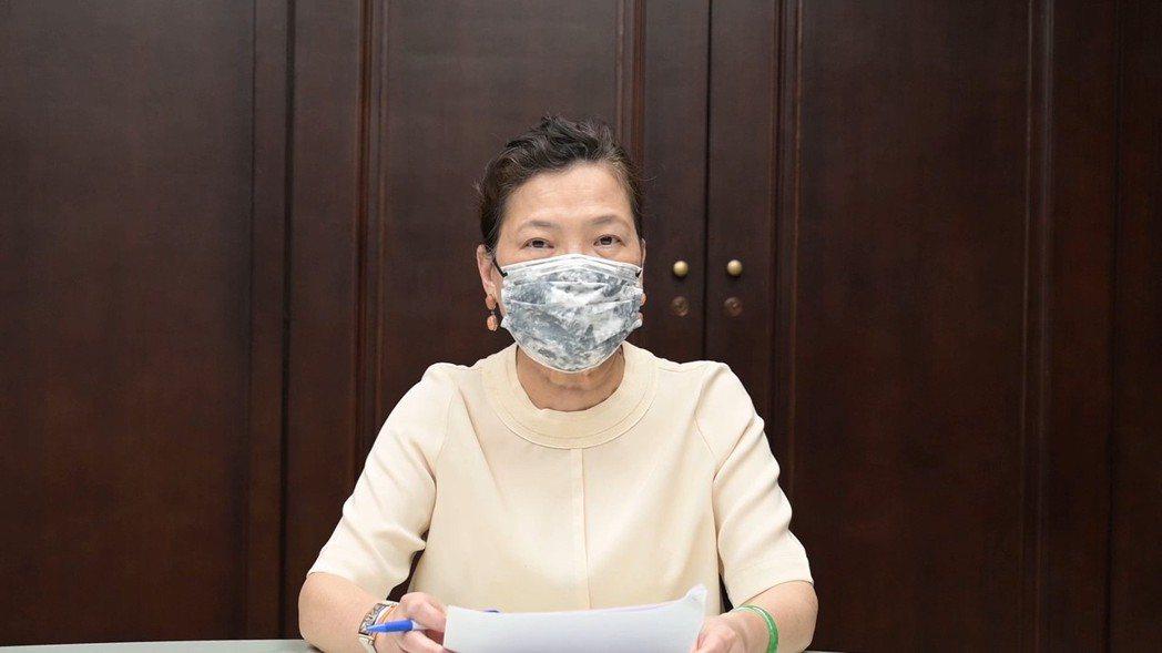 王美花今(18)日針對517大停電對外說明。她將停電歸咎於氣候異常、台灣景氣好造...