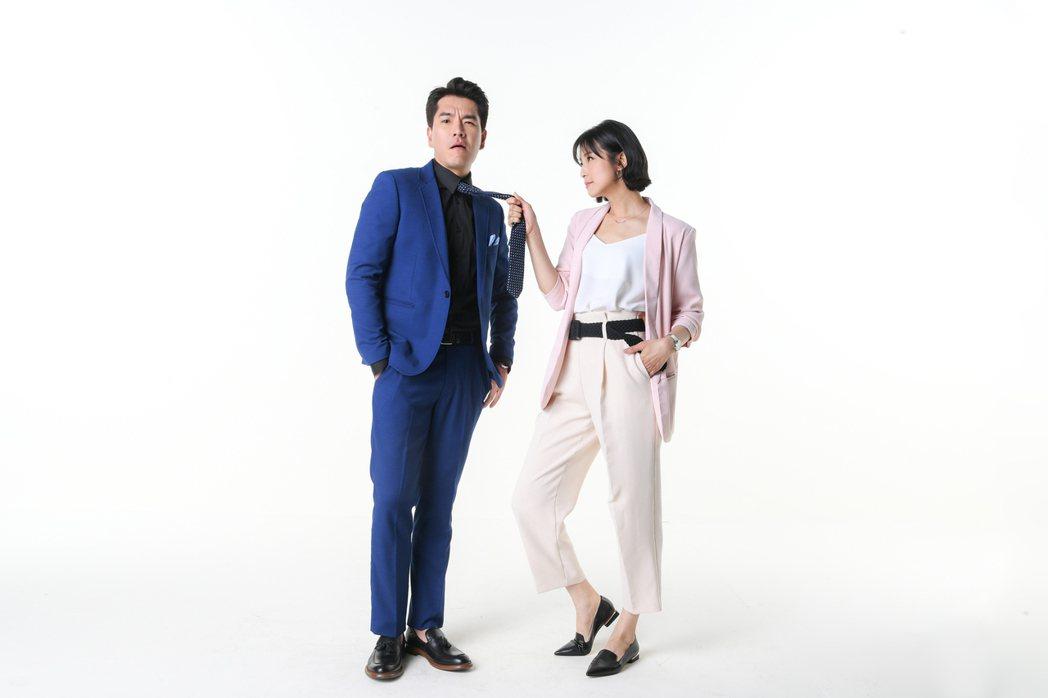 王傳一(左)和賴雅妍在劇中默契十足,感情戲加分。圖/三立提供
