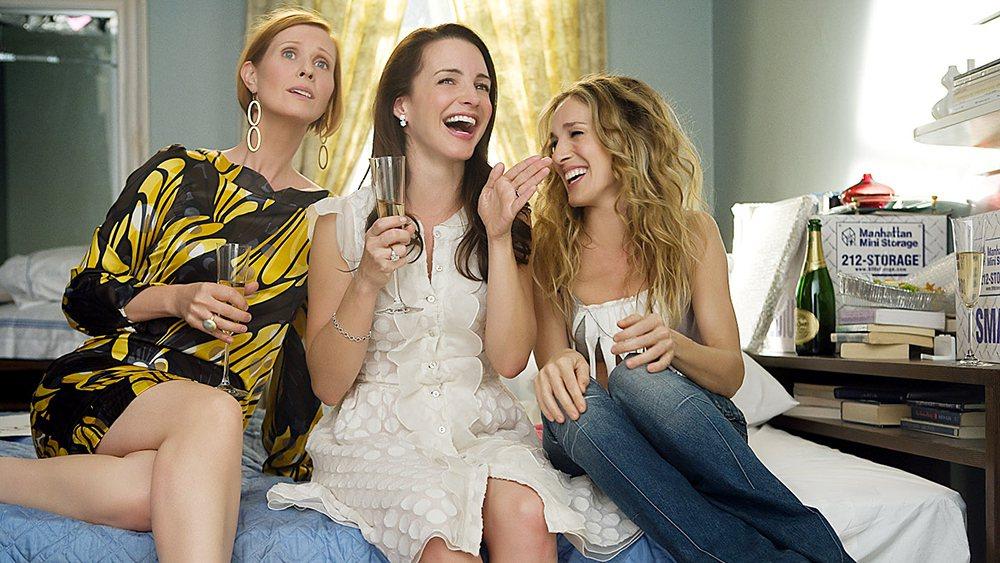「慾望城市」3位元老女主角將在續篇中增加3位非白人的新姊妹淘。圖/摘自imdb