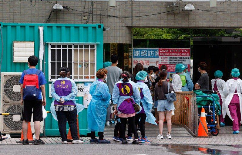 台灣本土新冠疫情擴大。示意圖╱聯合報系資料照(記者鄭超文攝影)