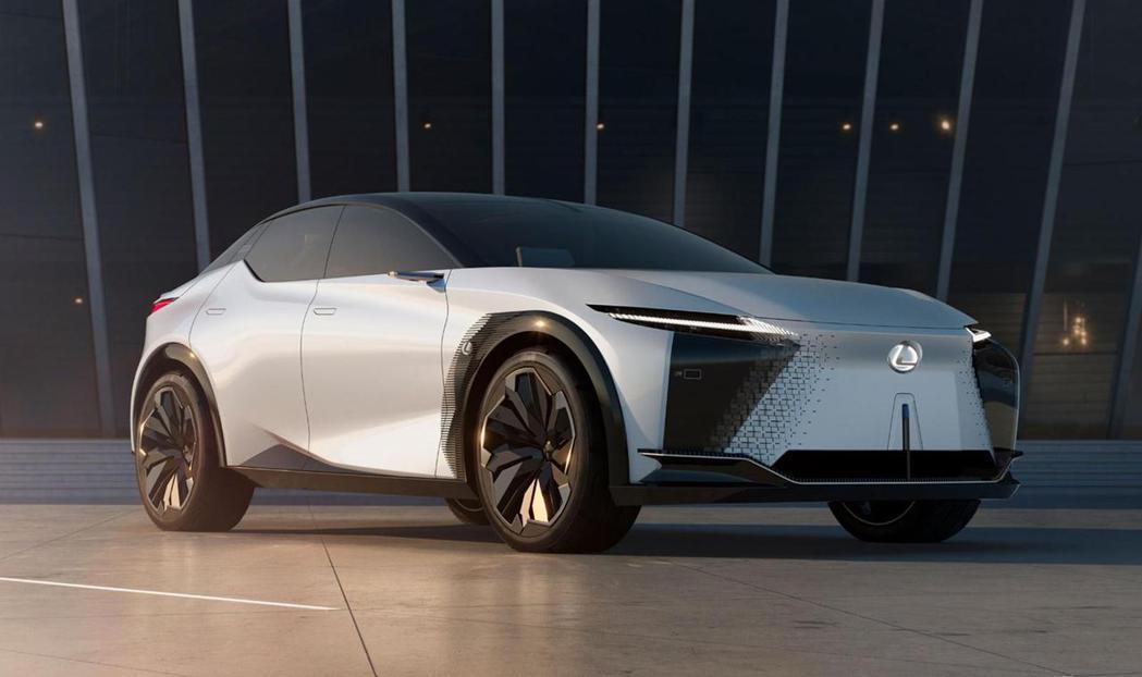 LEXUS在今年3月發表LF-Z Electrified純電概念車。 圖/LEX...