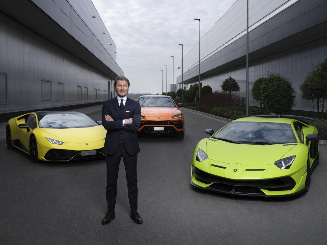 Lamborghini執行長Stephan Winkelmann。 摘自Lamb...