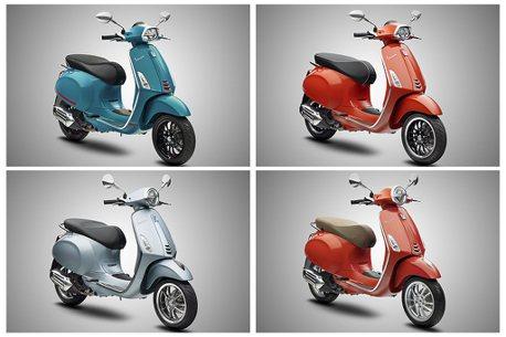 偉士牌兩大明星車款Primavera、Sprint!同步推出搶眼新色