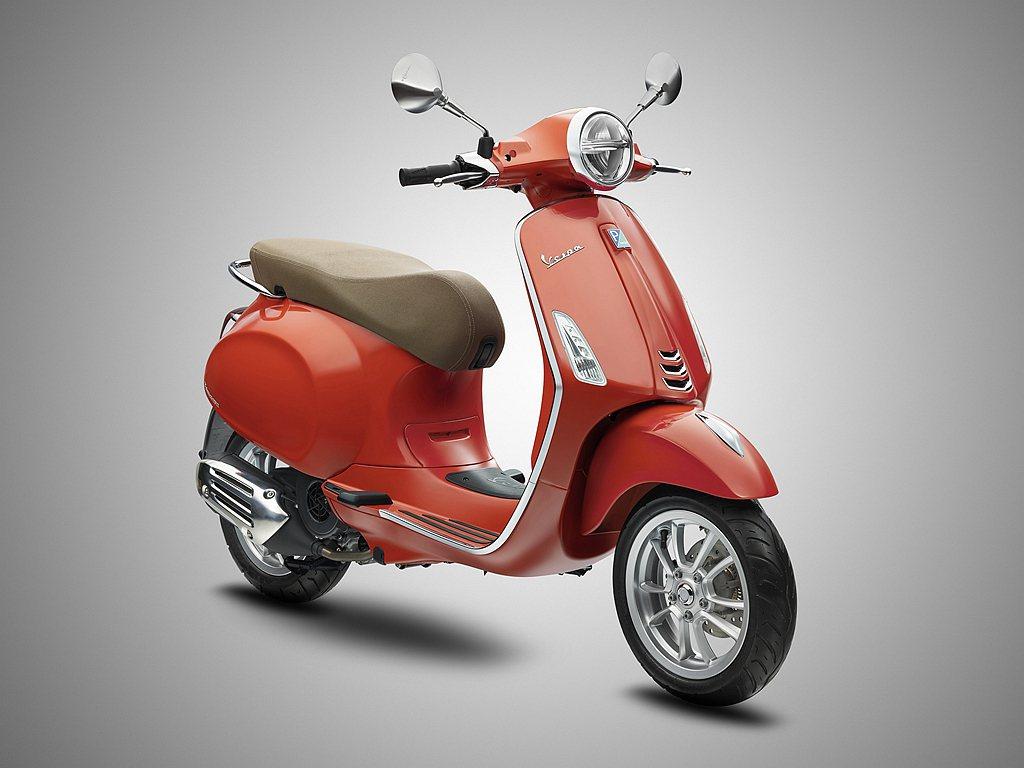 偉士牌Primavera 125 i-get ABS「Orange Tramon...