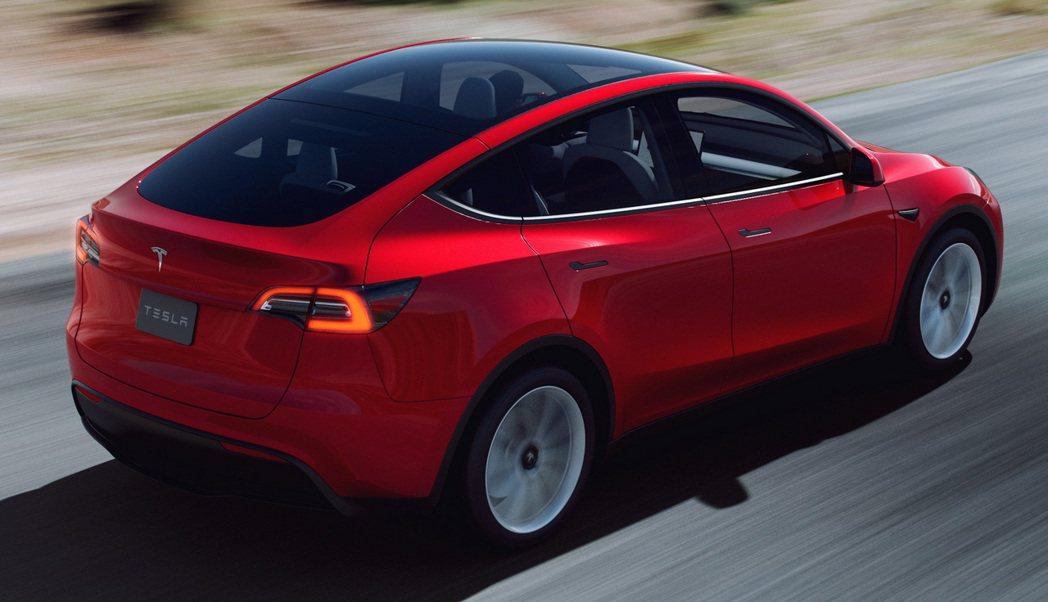 Tesla Model Y。 摘自Tesla